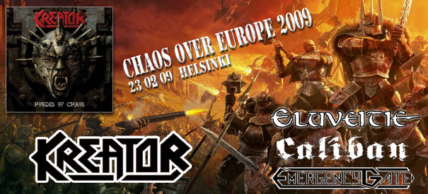 Chaos Over Europe Tour