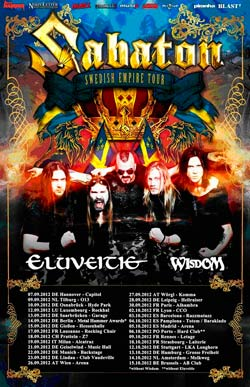 Swedish Empire Tour 2012